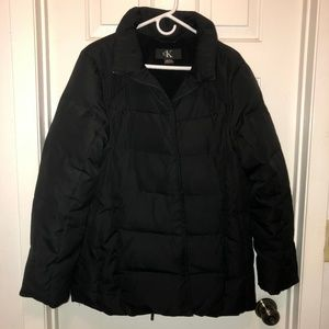 EUC Calvin Klein Women's down puffer coat XL
